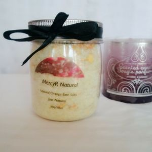🌹2/$18 Natural Orange Bath Salts